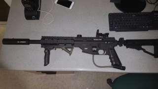 Gun seized by police