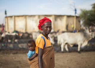 Kumba and Binta in Senegal